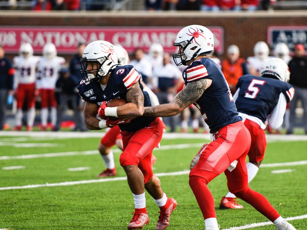 The Richmond Spiders won 30-10 against Stony Brook at the Homecoming game on Saturday, November 2, 2019.