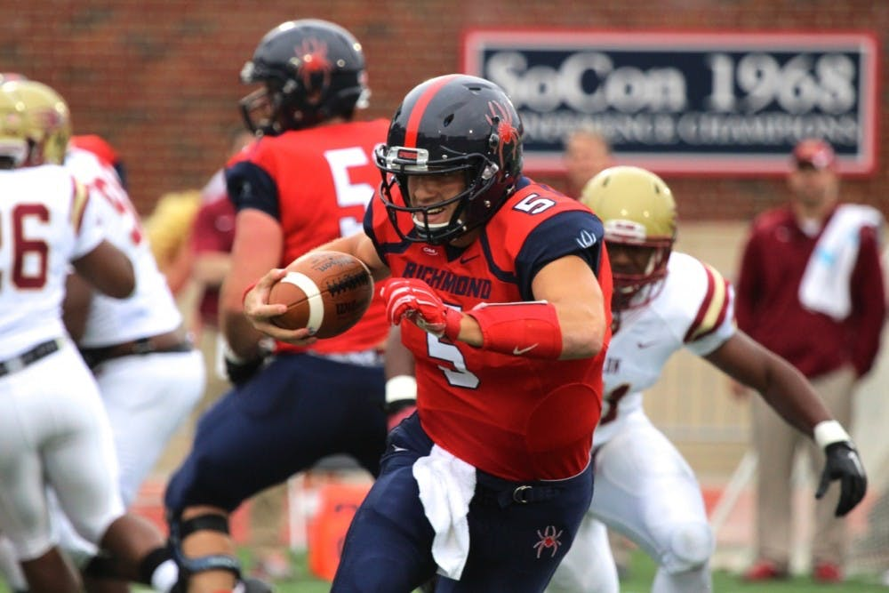 <p>Despite recent struggles by quarterback Kyle Lauletta and two straight losses, Richmond fans should not be worried about the Spiders.&nbsp;</p>