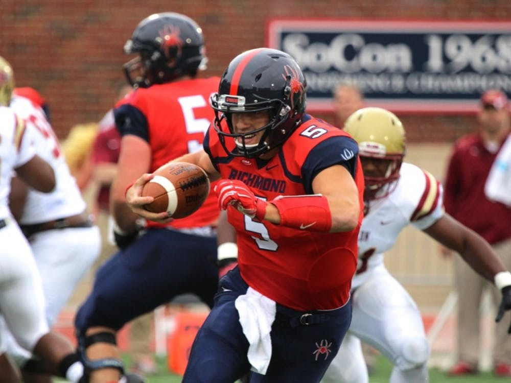 Despite recent struggles by quarterback Kyle Lauletta and two straight losses, Richmond fans should not be worried about the Spiders.