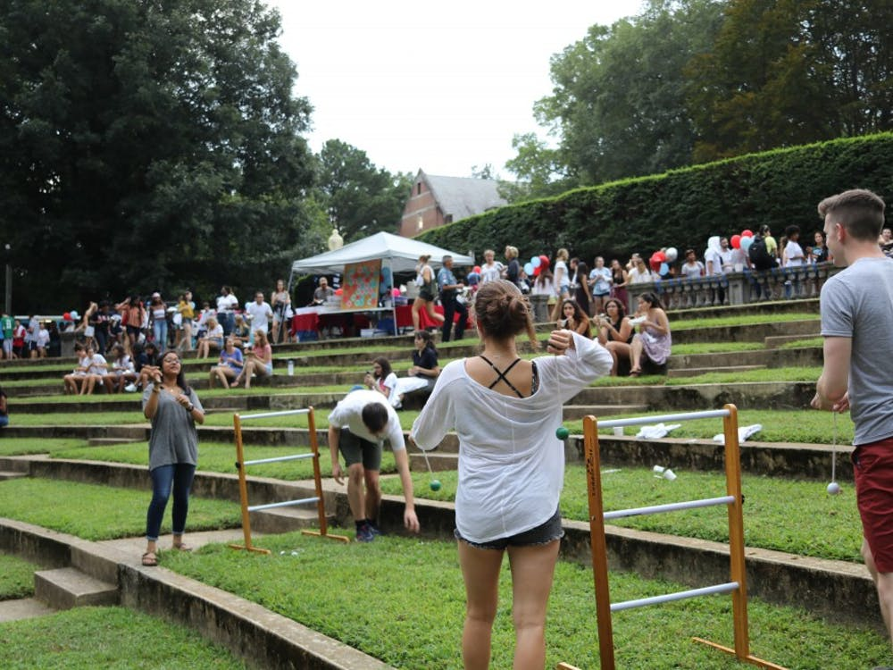 Trucks and Tunes, the first of the block parties, took place in the Greek theater attracted more than 900 students, said Lauren Foligno, assistant director for programming at the Center for Student Involvement.