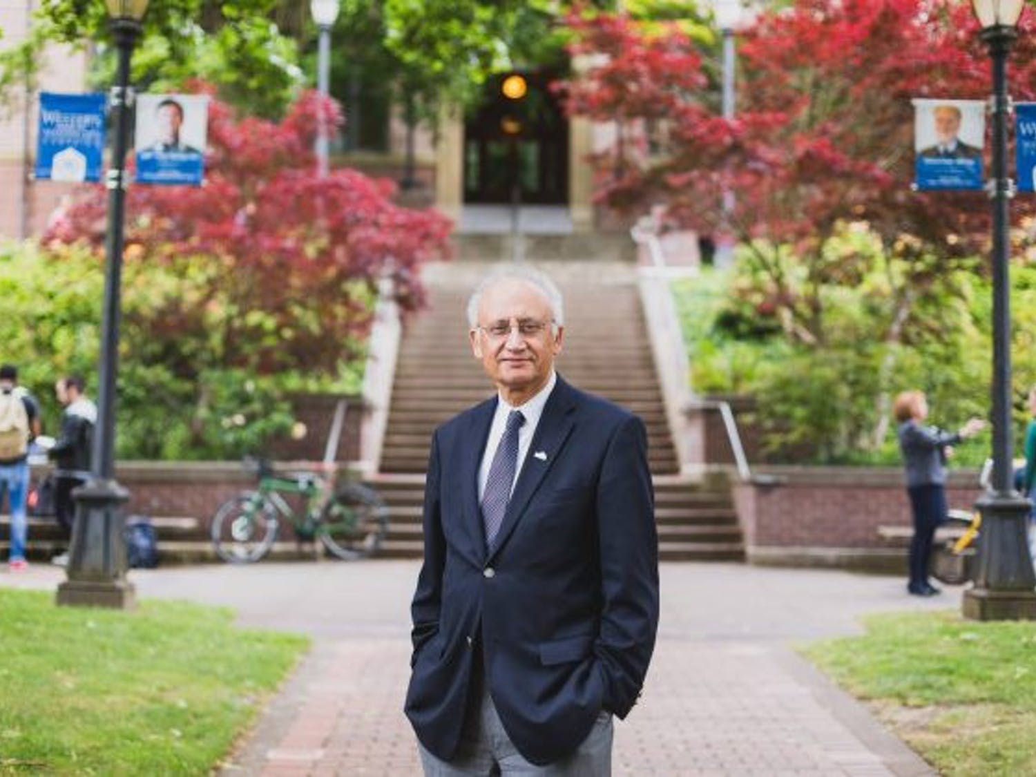 President Randhawa hosted a live Q&A with Western students May 20. In fall 2021, Randhawa will welcome back students to Western's campus. // Photo courtesy of Western's Director of University Communications Paul Cocke.